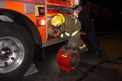 Burnt Food On Stove, Firefighter Response, Coaldale (11-17-2014)