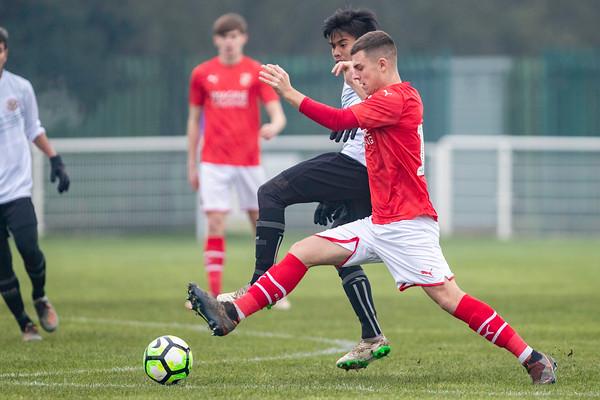 Garuda Select XI vs Swindon Town FC U18s - 17th Dec 2019