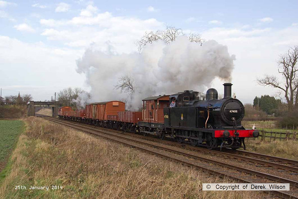 2014, 25th January - Great Central Railway winter steam gala