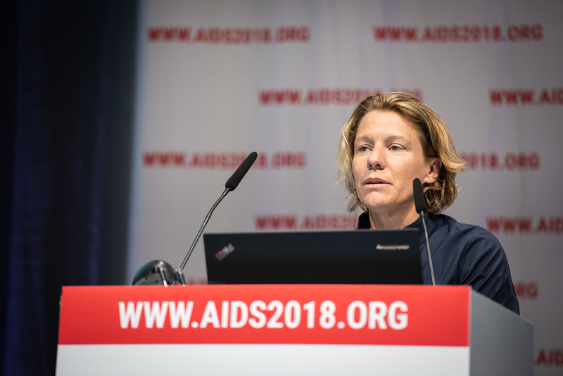 22nd International AIDS Conference (AIDS 2018) Amsterdam, Netherlands.   Copyright: Steve Forrest/Workers' Photos/ IAS  Photo shows: IAS Members' Meeting.