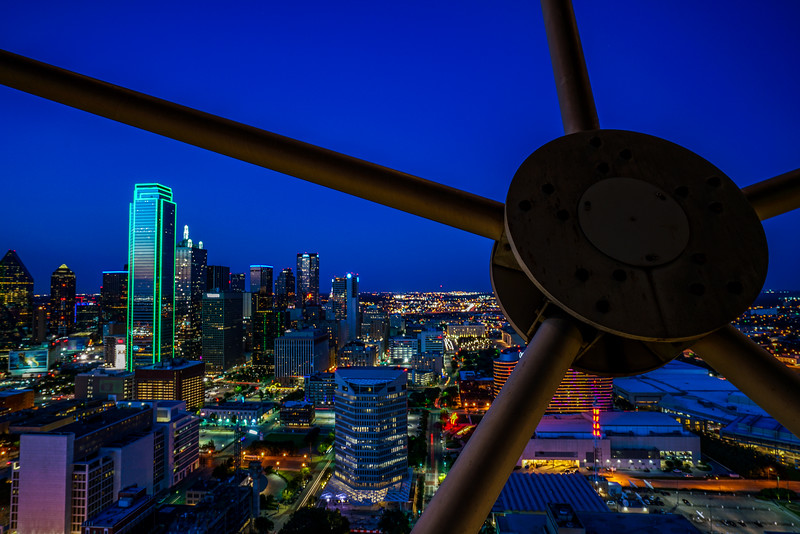 From the Reunion Tower Observation deck