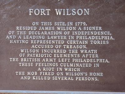 """""""Fort"""" Wilson"""