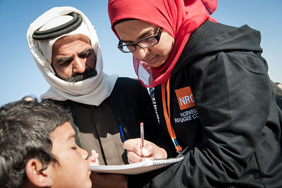 ICLA for Syrian refugees in Wadi Khaled
