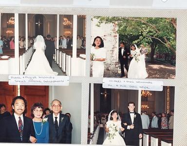 6-19-1993 Hamamoto & Boyle Wedding @ Georgetown, DC