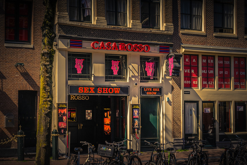 The Famous Casa Rosso in Amsterdam