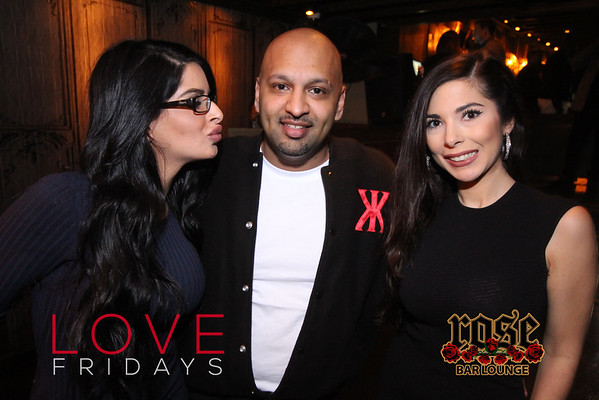 LOVE Fridays at Rose Bar February 2016