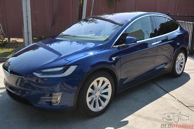 2018 Tesla Model X 100D - Deep Blue Metallic