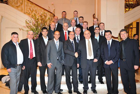 Mr. Yitzhak Tshuva host Pheonix Group