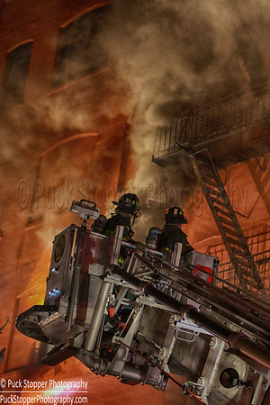 3rd Alarm Building Fire - 261 Walton Ave, Bronx, NY - 4/9/17