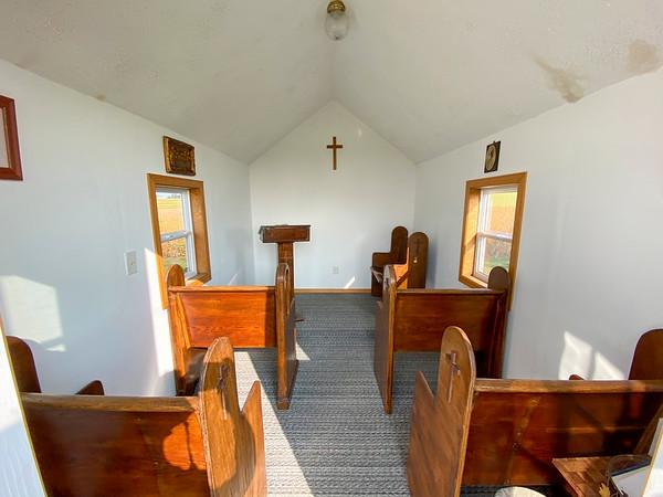 Tabor Cemetery Tiny Chapel