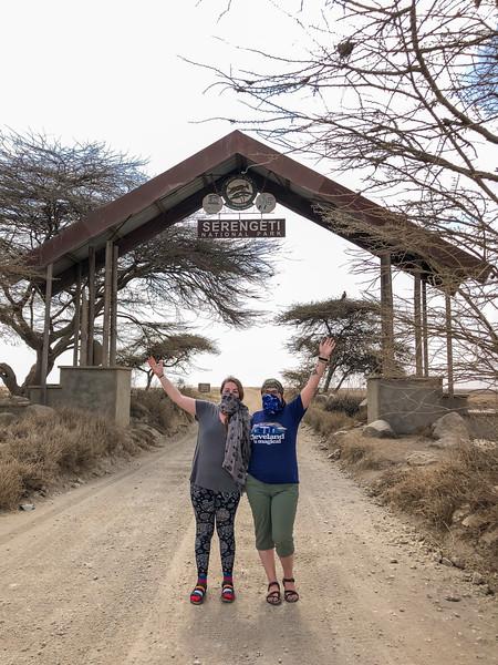 Enterting Serengeti National Park