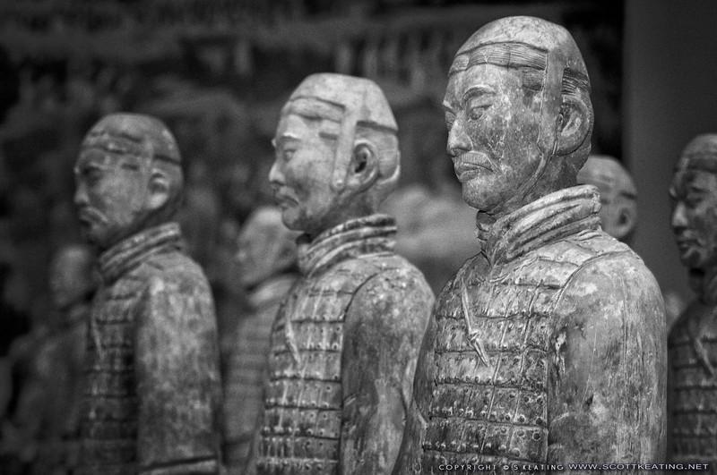 Tomb Warriors - China Pavilion, EPCOT