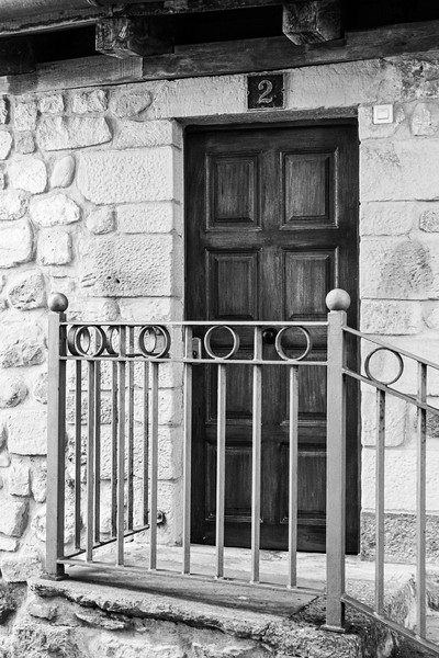 Architectural details in Bermeo