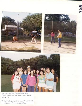 8 to 9 - 1982 Wiffle Baseball, Labor Day & JACL picnic