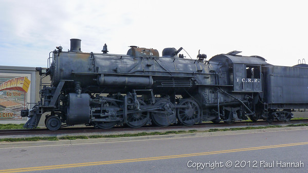 Steam Locomotive No. 1518 - Paducah, KY