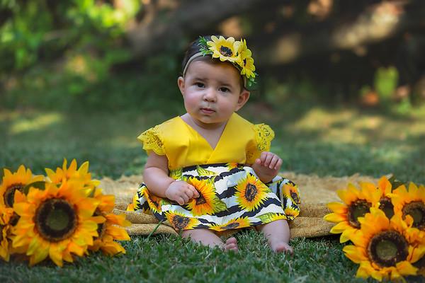 Emi - Sunflowers - October 2020