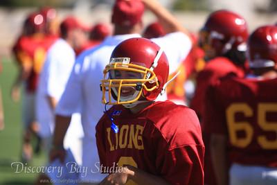 Connor Vis Liberty Freshman Football 9-27-08