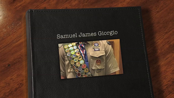 Sam's Eagle Court of Honor 12-18-2016