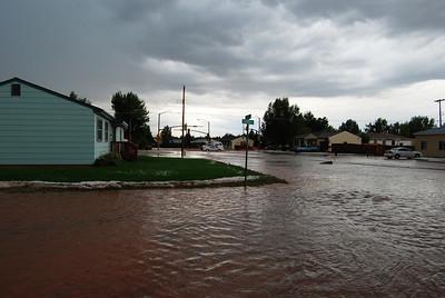 Rain/Hail Storm - July 25, 2007
