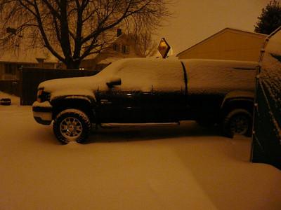 Renton snow 12/2008