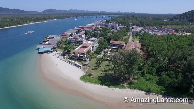 Aerial View of Saladan