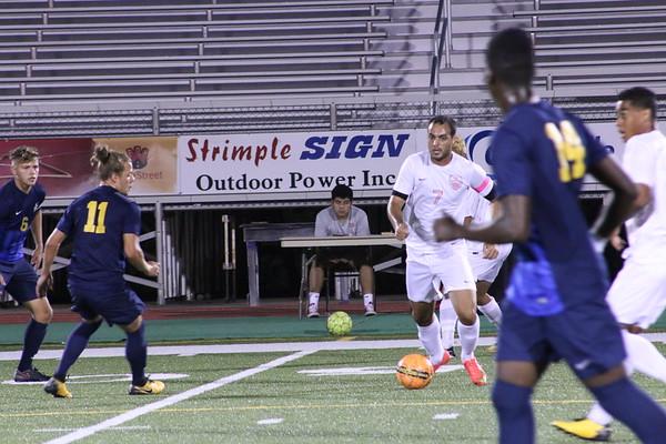 Men's Soccer vs. JCCC 10-12-17