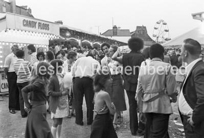 Fair at Hale Leys car park