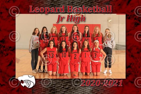 Lorena Jr High Basketball 2021