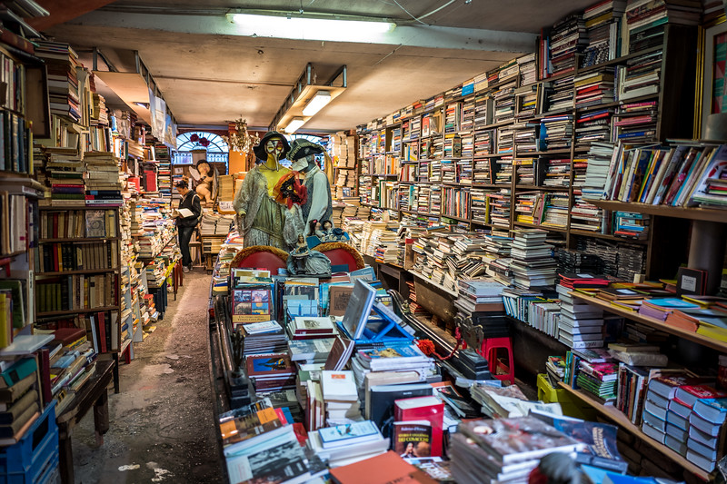 A bookstore in Venice