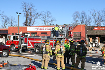 2 Alarm Bursh w/ Extension to Building - 535 Hope St, Stamford, CT - 3/7/20