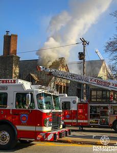 3 Alarm Church Fire - 50 Lockwood Ave, New Rochelle, NY - 12/27/18