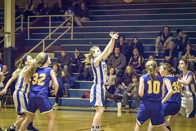 DMS Girls Basketball 01-04-2016