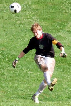 Freshman Soccer Impressionist