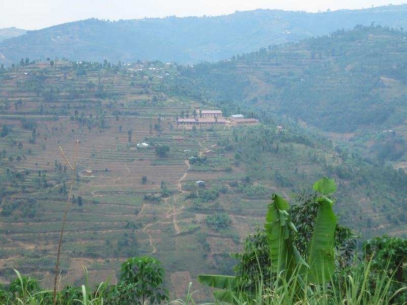 Near Huye on the way back to Kigali