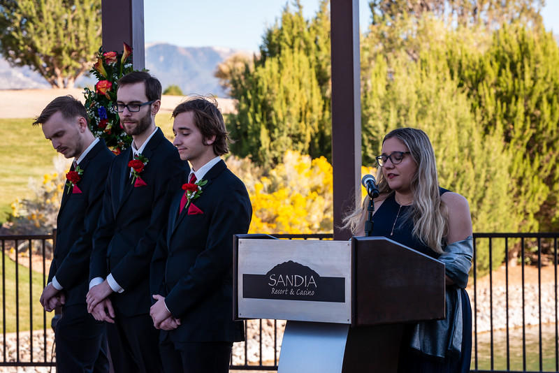 Sandia Hotel Casino New Mexico October Wedding Ceremony C&C-77.2.jpg