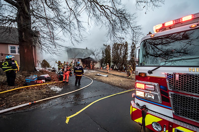 2 Alarm Structure Fire - Elam St, New Britain, CT - 2/24/19