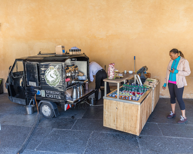 Stirling Castle Food Truck