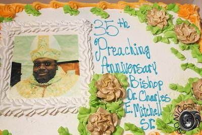 MARCH 17TH, 2018: BISHOP MITCHELL'S 35TH CHURCH ANNINVERSARY