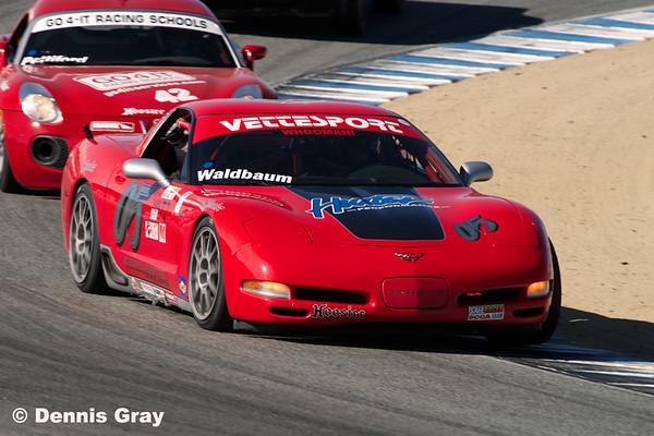 Corvettes at Runoffs 2014