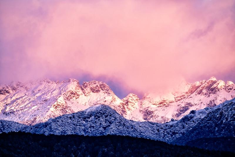Sunrise Light Over Keppler Range