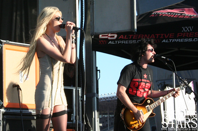 The Pretty Reckless @ Fairplex (Pomona, CA); 8/11/10