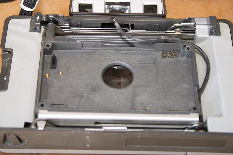 Foam gaskets removed