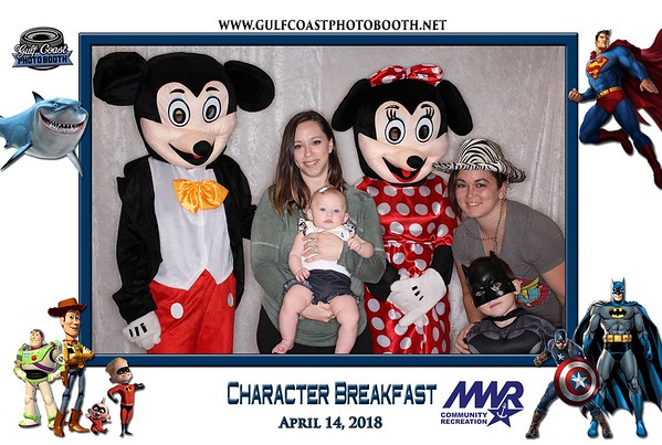 MWR Character Breakfast 2018