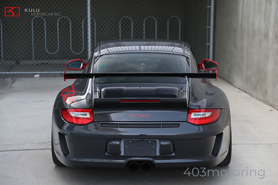 '11 911 GT3 RS - Grey Black