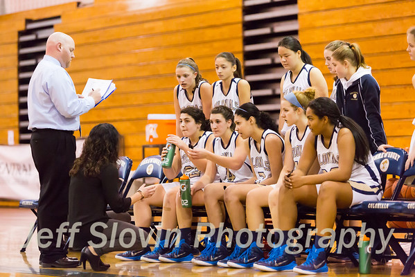 Shrewsbury Girls Basketball Jan 20, 2015
