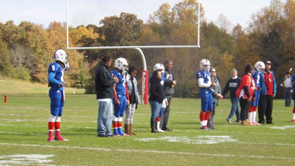 Prep Football Senior Game