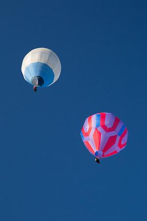 Post Mills Ex. Balloons