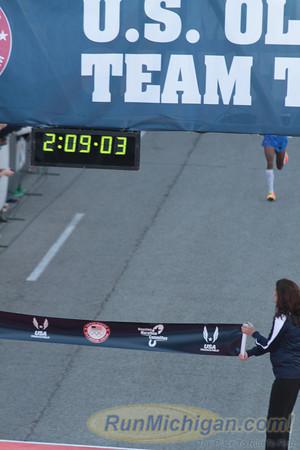 Men Finish - 2012 US Olympic Trials Marathon