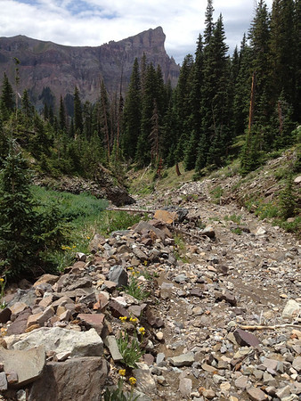 Middle Fork of the Cimmaron July 2012
