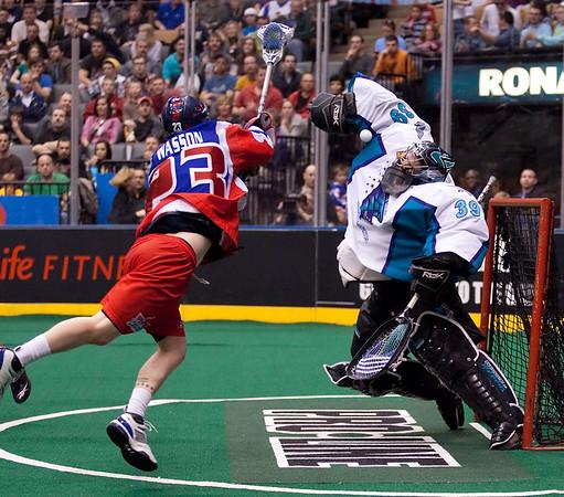 Rochester Knighthawks @ Toronto Rock 16 April 2010